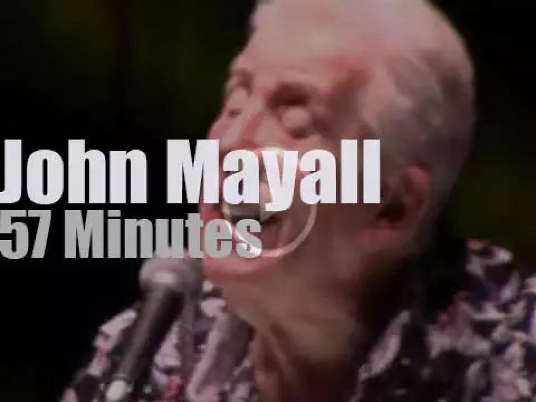John Mayall visits Paris (2015)