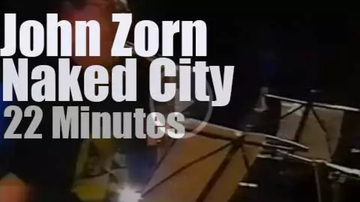 John Zorn takes Naked City to Finland (1989)