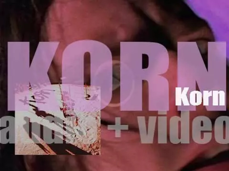 Epic Records publish 'Korn,' their eponymous debut album (1994)