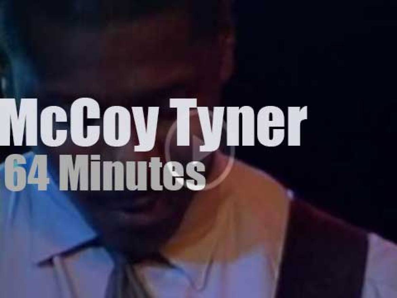 McCoy Tyner takes a big band to Germany (1990)