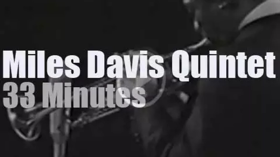 The Miles Davis Quintet performs in Stockholm (1967)