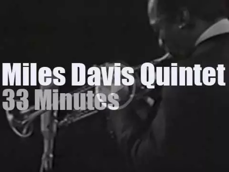 The Miles Davis Quintet performs in Stockholm (1967)