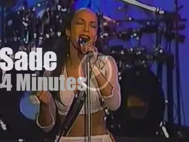 On TV today, Sade at 'Jay Leno' (1993)