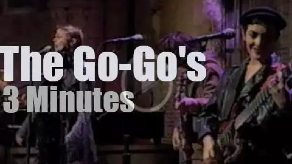 On TV today, The Go-Gos with David Letterman (1994)