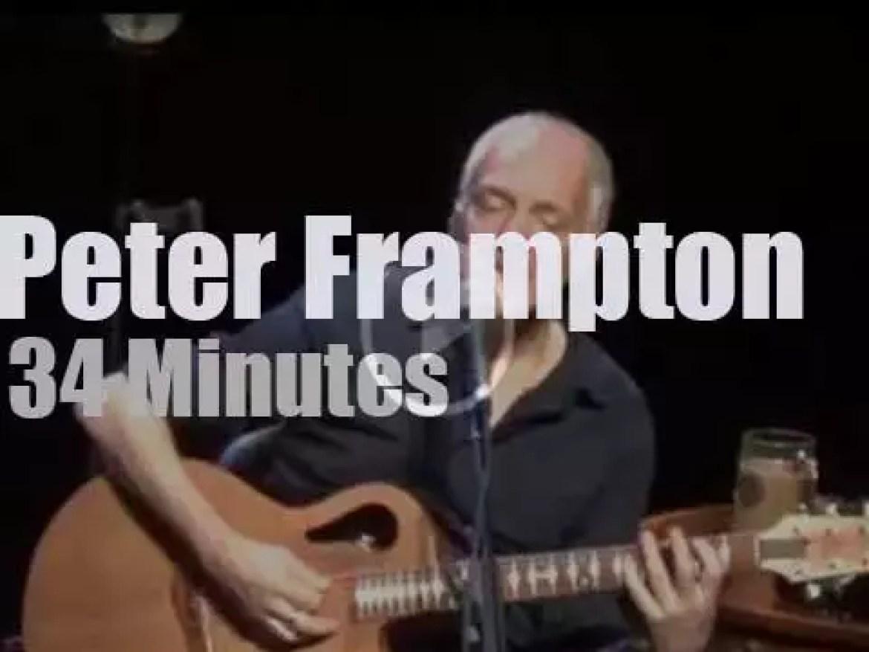Peter Frampton is 'Raw & Acoustic' (2015)