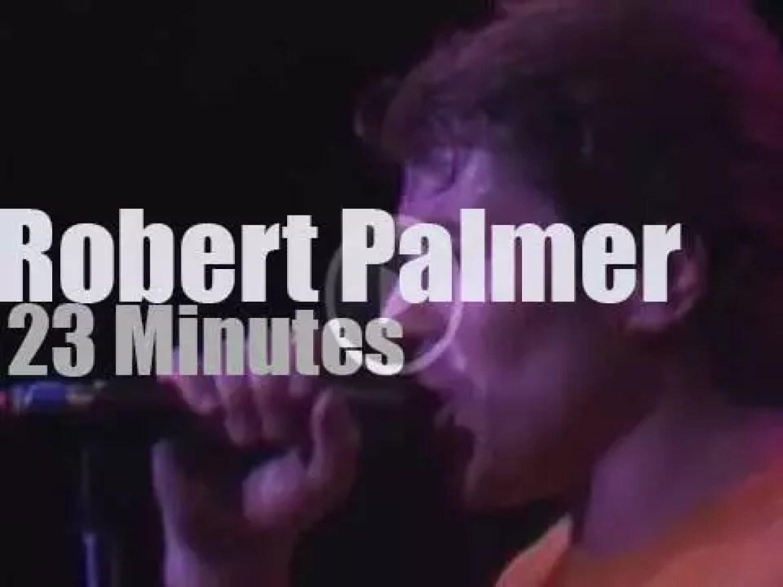 Robert Palmer visits New-Jersey (1979)