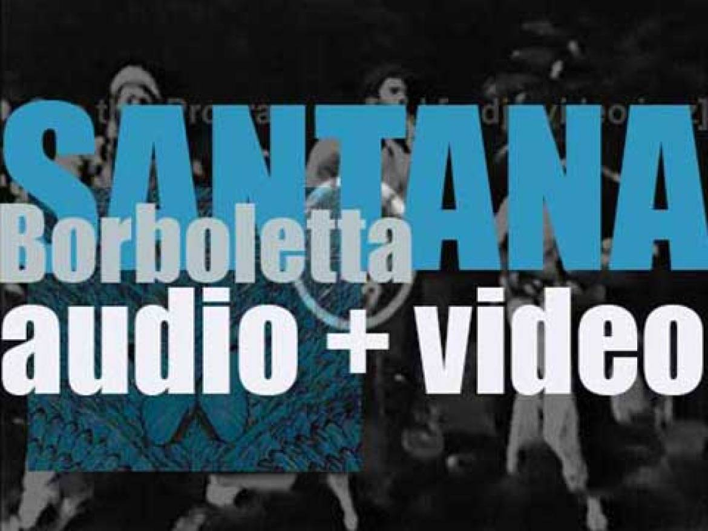 CBS publish Santana's sixth studio album : 'Borboletta' (1974)