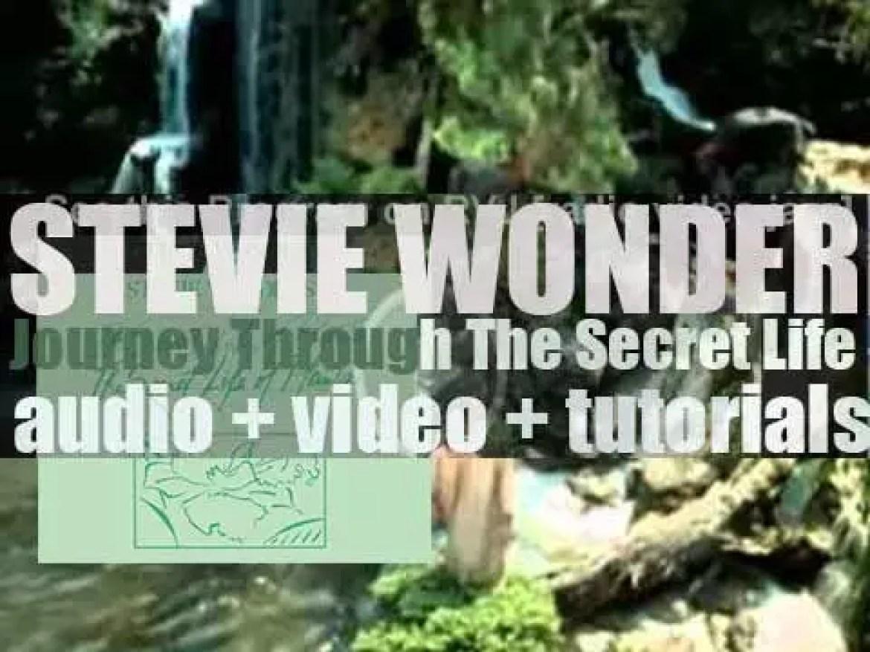 Tamla publish Stevie Wonder's soundtrack to the documentary 'Journey Through The Secret Life of Plants' (1979)