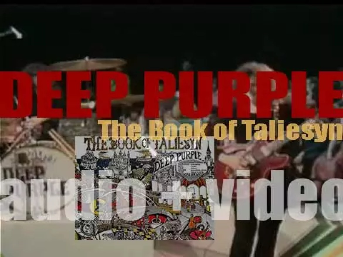 Deep Purple release their second album : 'The Book of Taliesyn' (1968)