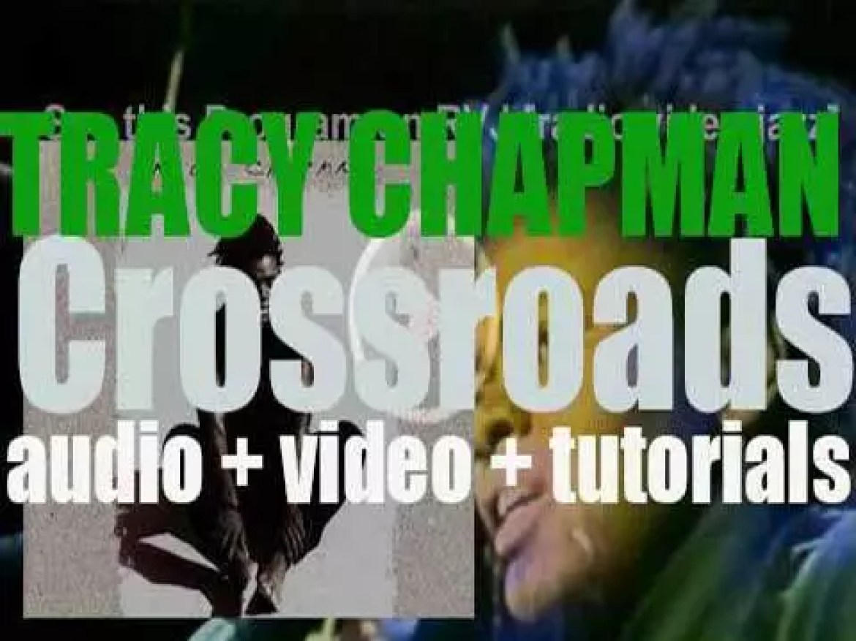 Elektra publish Tracy Chapman's  second album  : 'Crossroads' (1989)