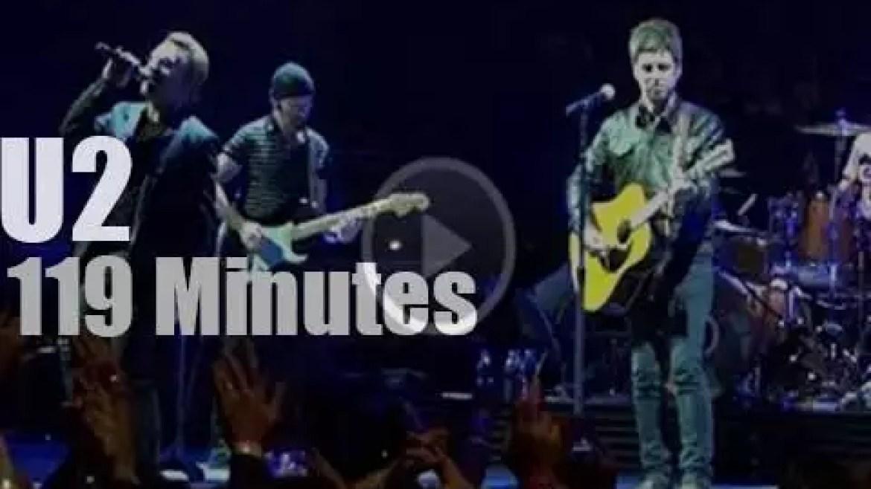 U2 fold then Noel Gallagher walks in (2015)