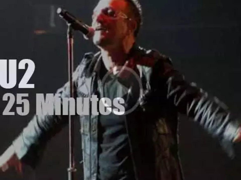 U2 rock Houston (2009)