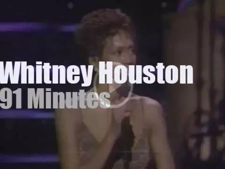 Whitney Houston sings in D.C.  (1997)