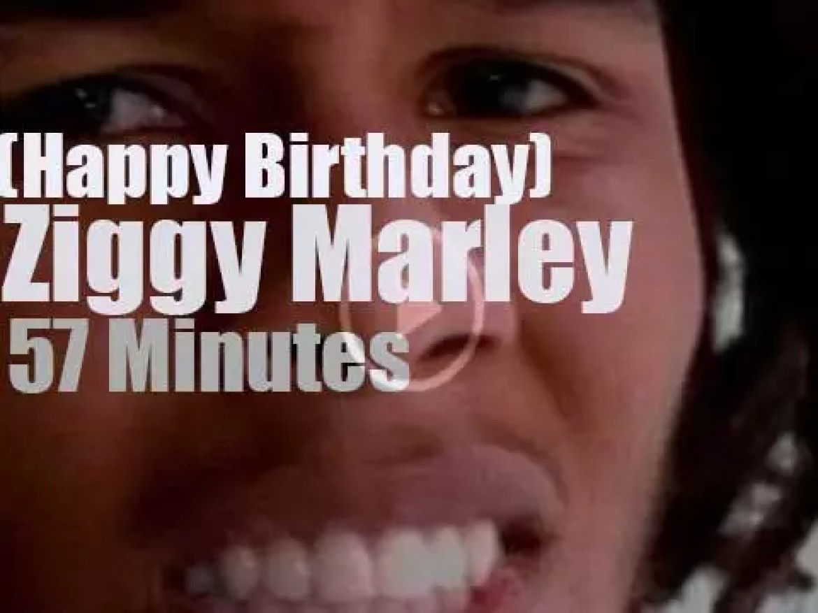 Happy Birthday Ziggy Marley