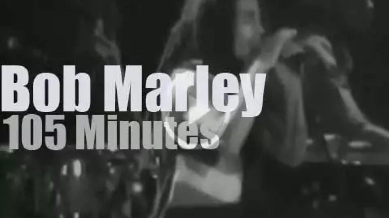 Bob Marley rocks Oakland (1979)