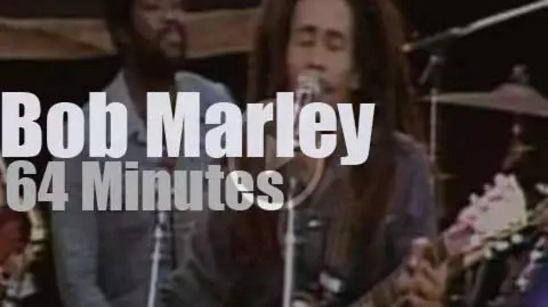 Bob Marley rocks Santa Barbara (1979)