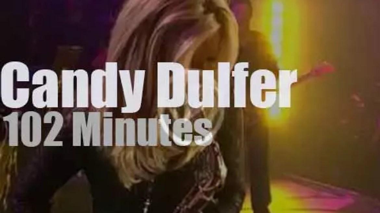 Candy Dulfer plays at 'Leverkusener Jazztage' (2009)