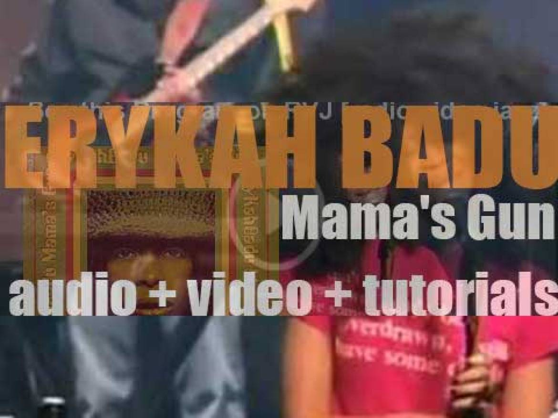 Motown publish Erykah Badu's second album : 'Mama's Gun' featuring 'Bag Lady' (2000)