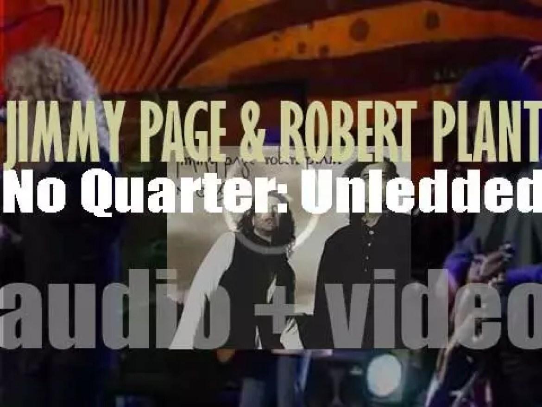 Atlantic publish 'No Quarter,' a live album by Jimmy Page and Robert Plant (1994)