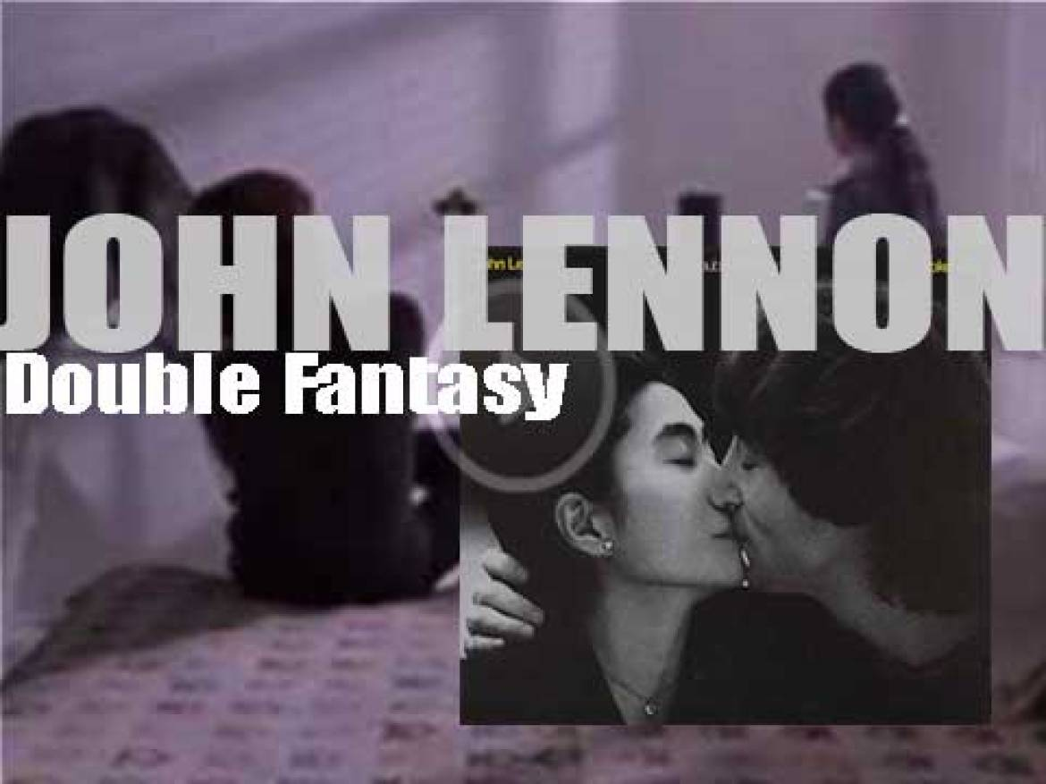 John Lennon releases his seventh and final album : 'Double Fantasy' recorded with Yoko Ono (1980)