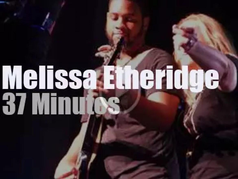 Melissa Etheridge  enchants Orlando (2014)