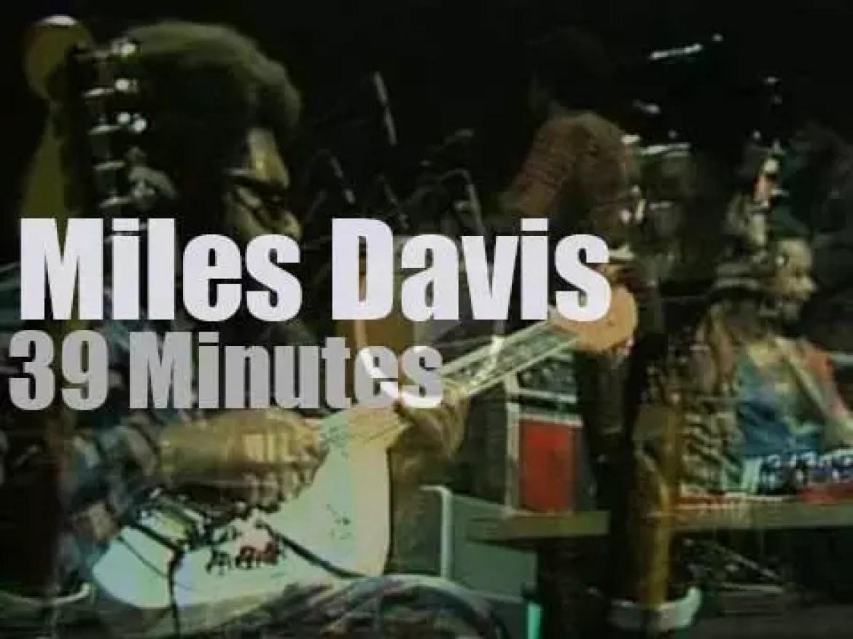 Miles Davis rocks Vienna (1973)