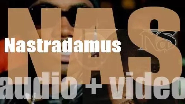 Columbia publish Nas' fourth album : 'Nastradamus' (1999)
