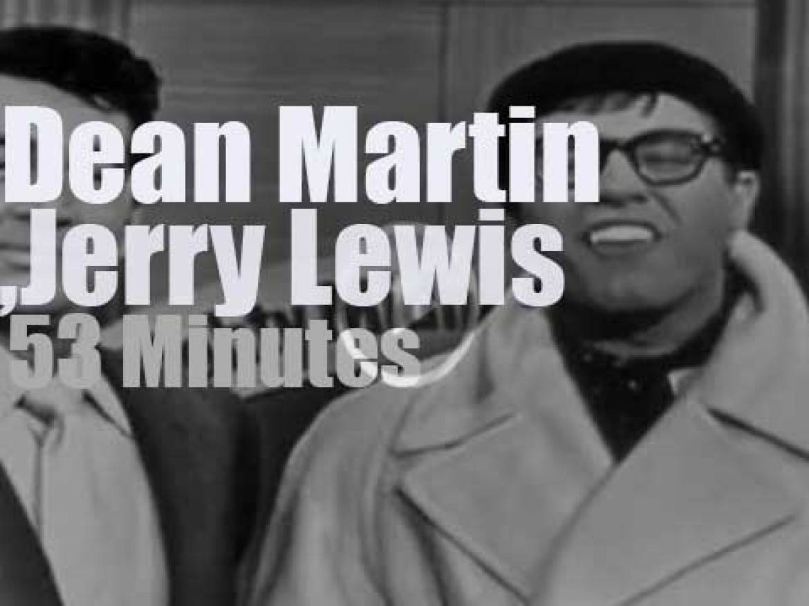 On TV today, Dean Martin & Jerry Lewis (1955)