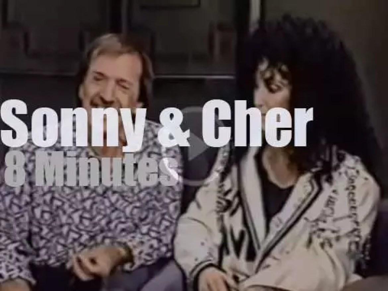 On TV today, Sonny & Cher reunite at 'David Letterman' (1987)