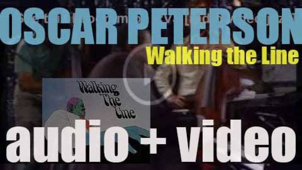 Oscar Peterson records 'Walking the Line' for Mps (1970)