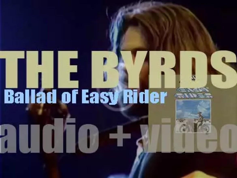 Columbia publish The Byrds'eighth album : 'Ballad of Easy Rider' (1969)