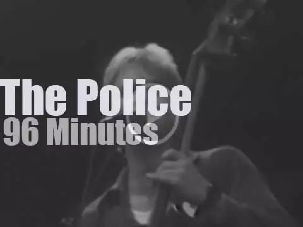The Police raids New-Jersey (1980)