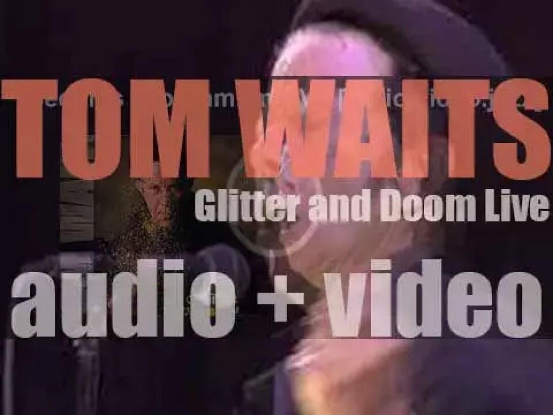 Anti publish Tom Waits' live album : 'Glitter and Doom' (2009)