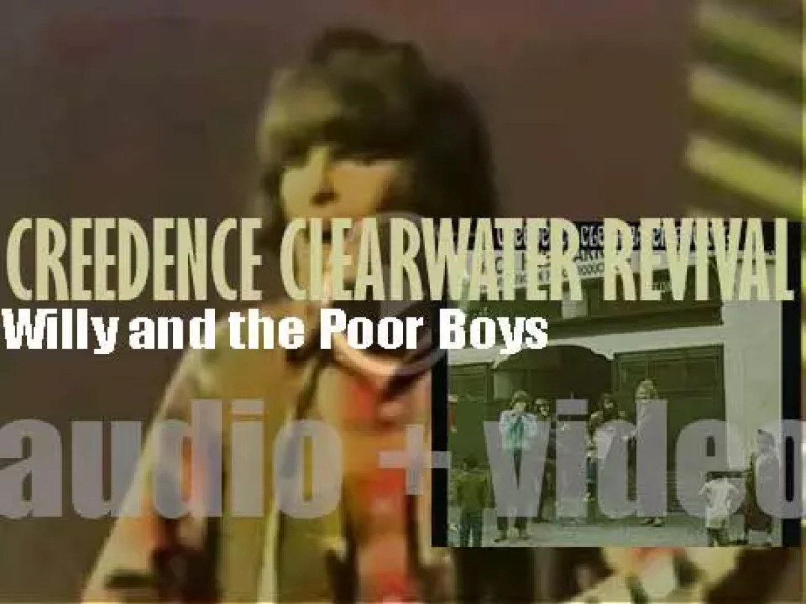 Creedence Clearwater Revival release their fourth album : 'Willy and the Poor Boys' featuring 'Down on the Corner' (1969)