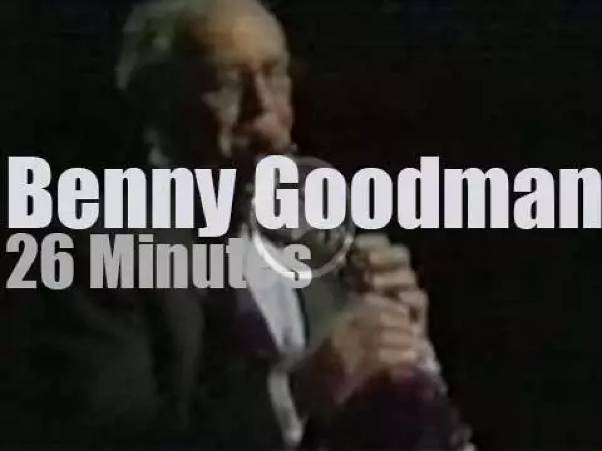 Benny Goodman is at Wolf Trap (1977)