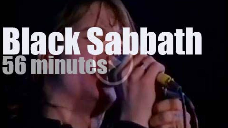 Black Sabbath visit Paris (1970)