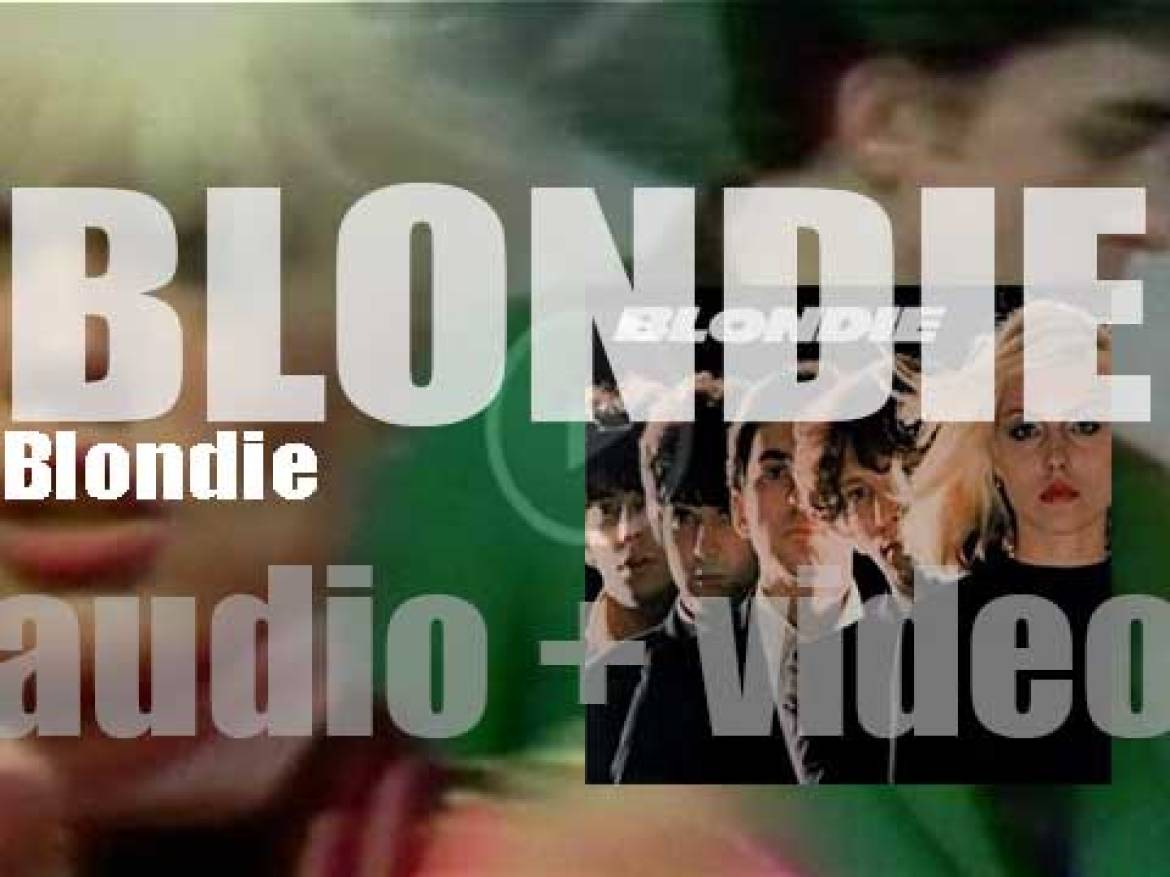 Private Stock publish 'Blondie,' their eponymous debut album featuring 'In the Flesh' (1976)