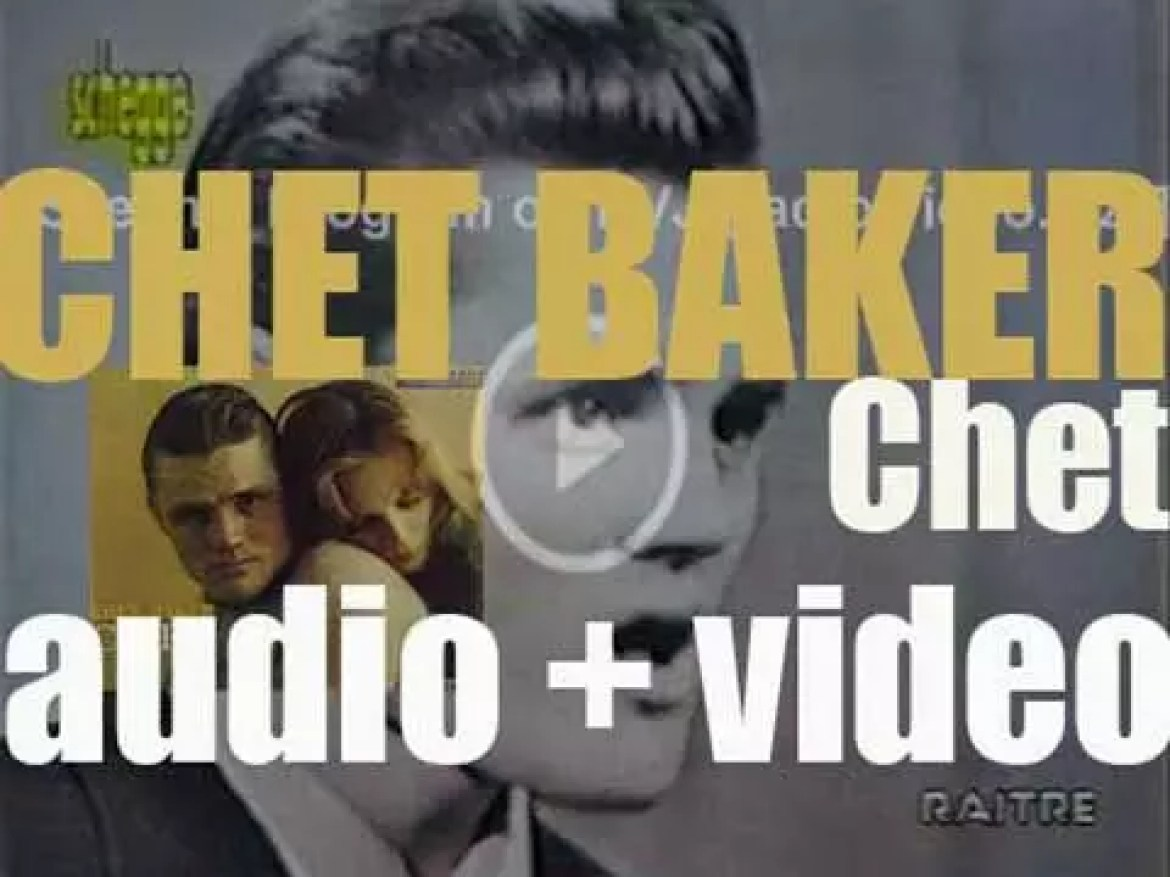Chet Baker records the album 'Chet' with Herbie Mann, Pepper Adams, Bill Evans, Kenny Burrell, Paul Chambers and Connie Kay (1958)