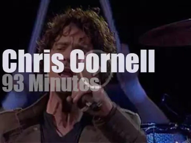 Chris Cornell attends an Argentinian festival