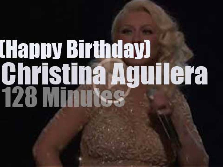 Happy Birthday Christina Aguilera