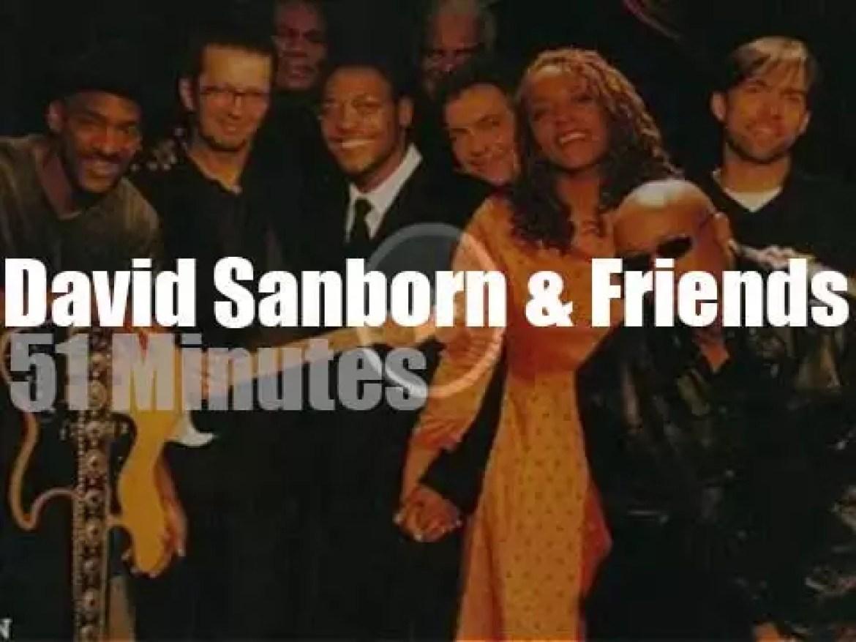 David Sanborn & Friends tape 'After New Year's Eve' program (1998)