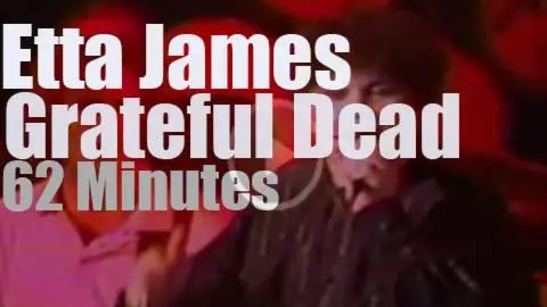 Etta James joins The Grateful Dead (1982)