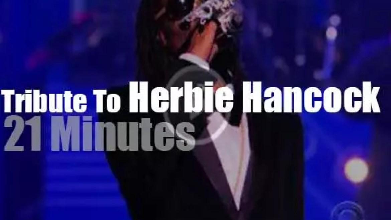 Esperanza, Snoop, Chick et al honor Herbie Hancock (2013)