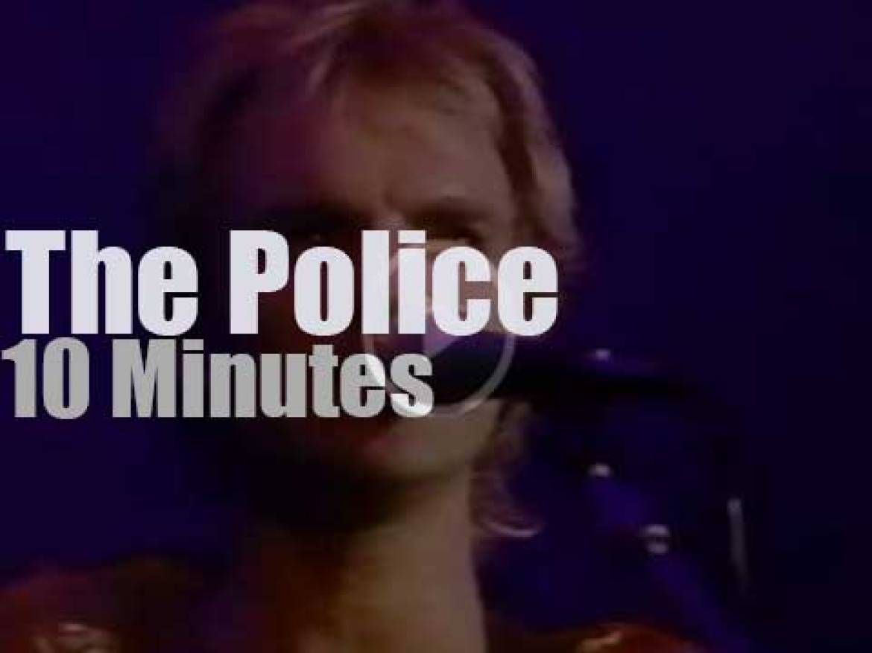 The Police patrol Wembley (1983)