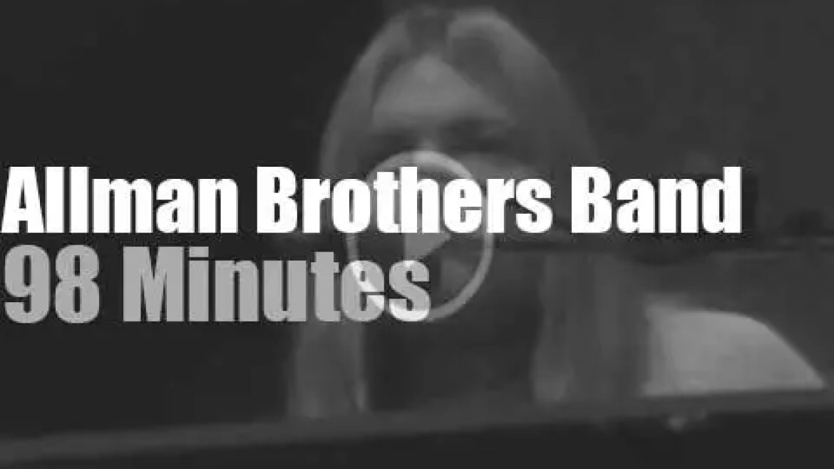 The Allman Brothers start the year in New Jersey (1981)