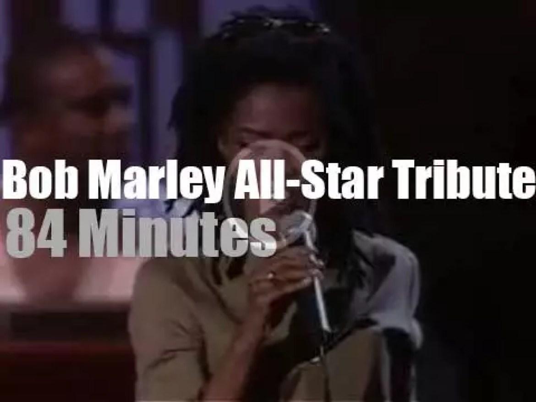 Lauryn Hill, Chrissie, Jimmy, Erykah et al pay tribute to Bob Marley (1984)