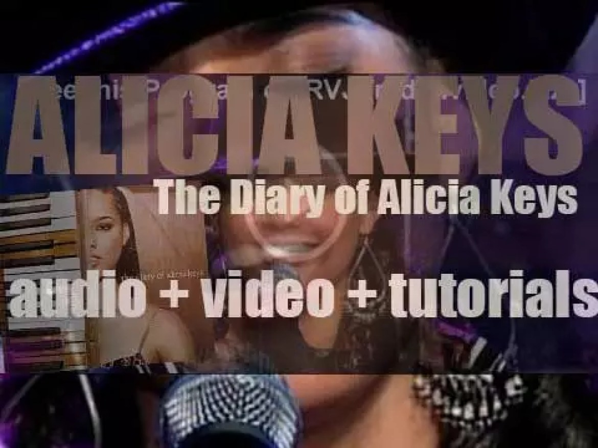 Alicia Keys releases her second album : 'The Diary of Alicia Keys' featuring 'You Don't Know My Name,' 'If I Ain't Got You' and 'Diary' (2003)