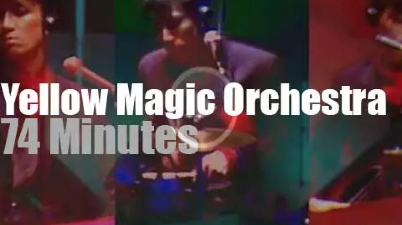 "Yellow Magic Orchestra celebrate 'Winter"" in Tokyo (1981)"