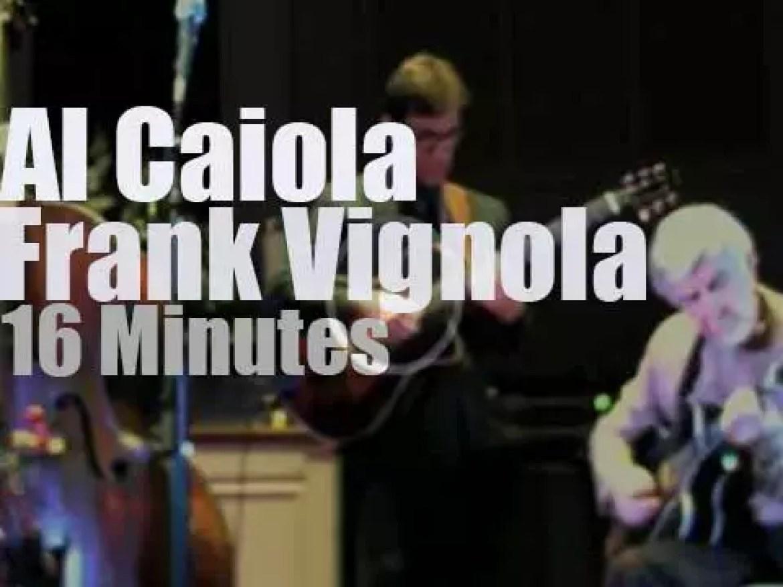 Guitar legend Al Caiola meets  Frank Vignola (2015)