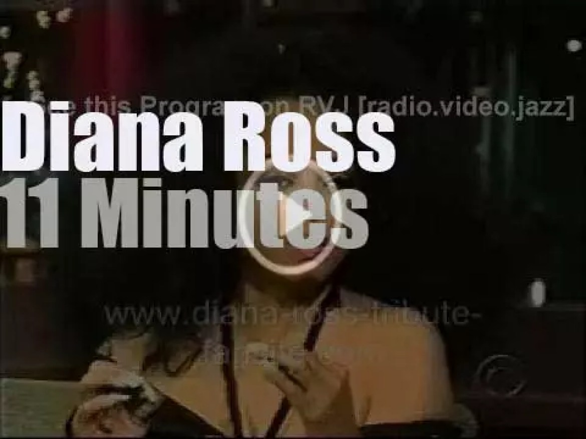 On TV today, Diana Ross with David Letterman (2007)